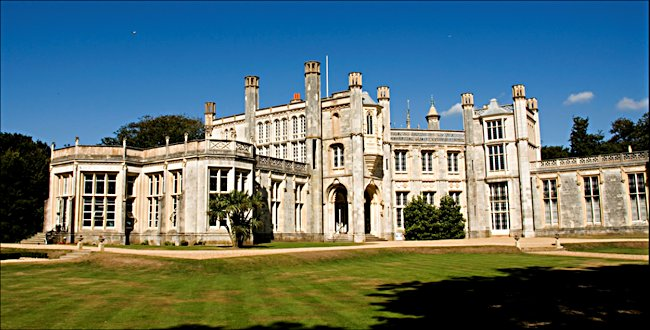 Mr Selfridges country home Highcliffe Castle, Rothesay Drive, Highcliffe, Dorset BH23 4LE