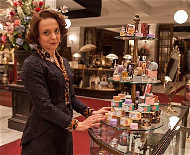 Amanda Abbington is Miss Mardle in season teo of ITV period drama Mr Selfridges