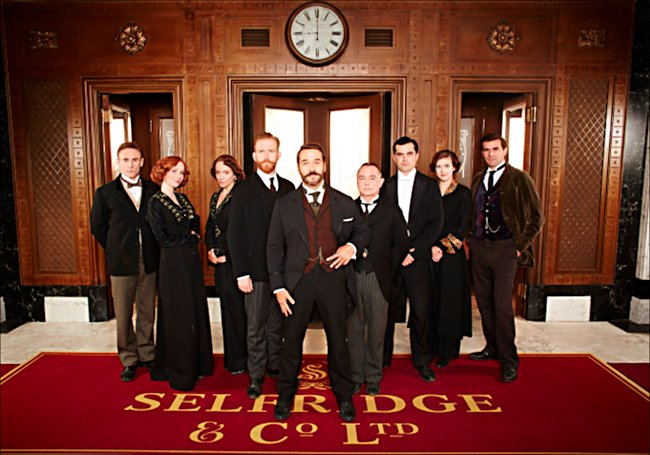 Mr Selfridges staff in series two of the TV period Drama